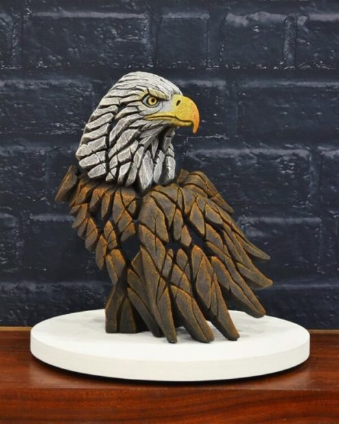 Matt Buckley, Bald Eagle Bust, 2019