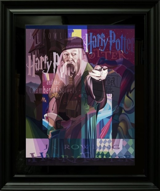 Stuart McAlpine Miller The Hand Of Wisdom, 2021 Framed Limited Edition Boxed Canvas Framed Size : 46 1/2 x 39 inches Framed Size : 117 x 98.5 cms Edition of 75