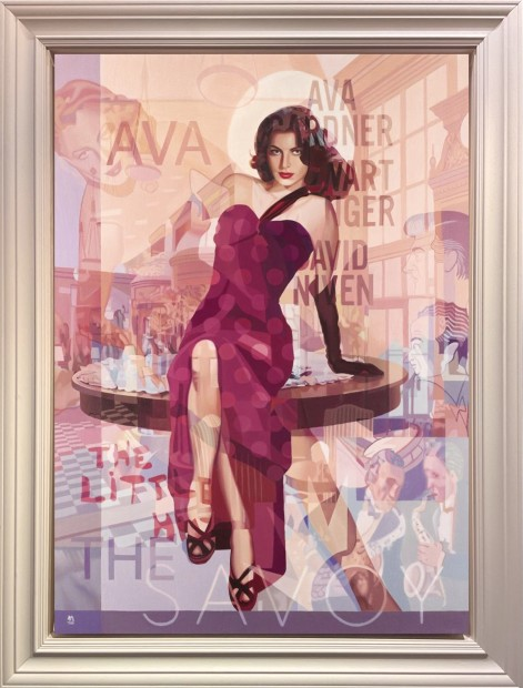 Stuart McAlpine Miller, Ava Gardner: A Desirable Proposition from The Savoy Suite