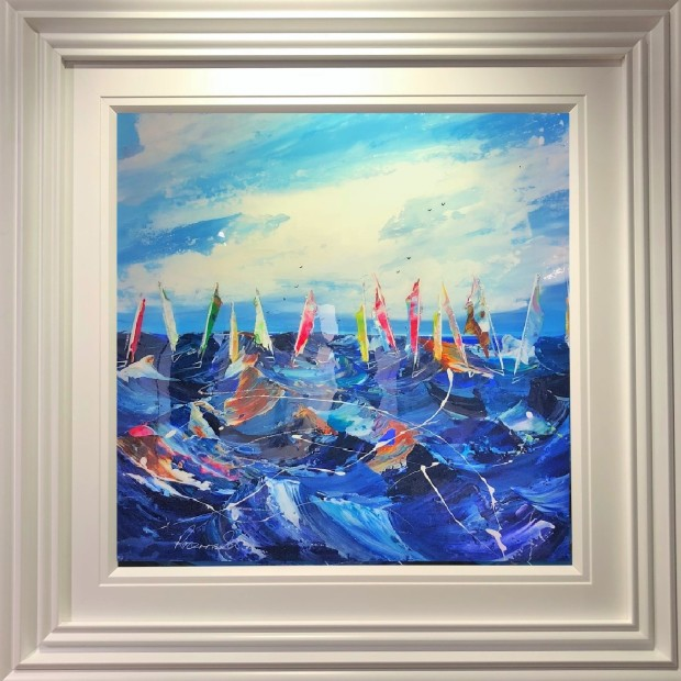 Rozanne Bell, Regatta At Dawn, 2019
