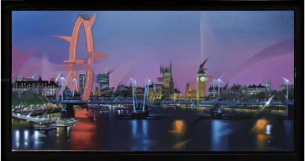 Neil Dawson, London Eye, 2018