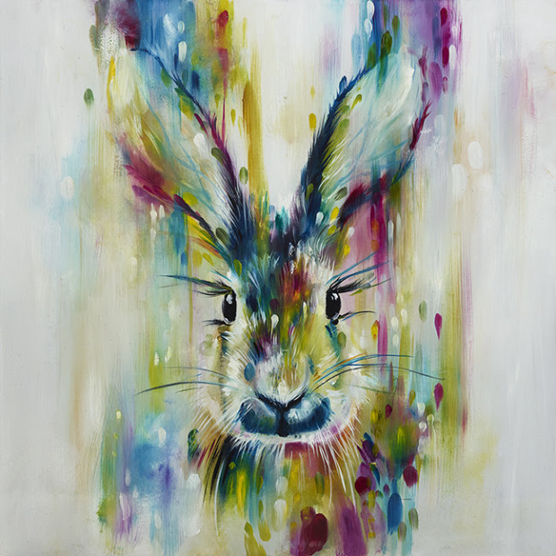 Katy Jade Dobson, Hare - Escape - Small, 2018