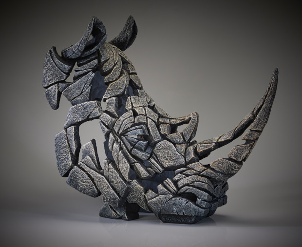 Matt Buckley, Rhinoceros Bust - White