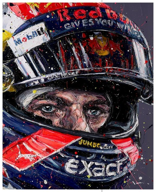 Paul Oz, Simply Lovely - Max Verstappen, 2018