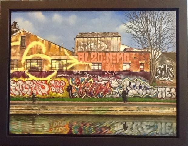 Marc Gooderham, Regents Canal Hackney, 2017