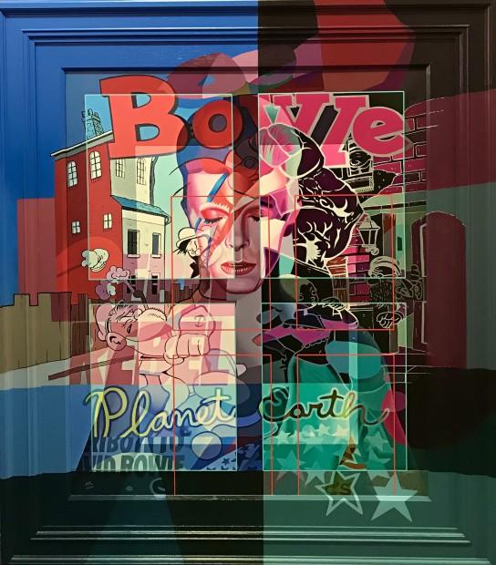 Stuart McAlpine Miller, Bowie - Dark Side Of The Mind, 2021