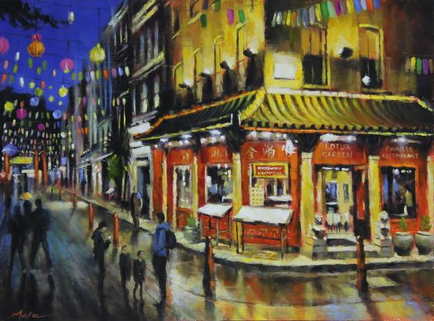 Marc Gooderham, Chinatown, 2021