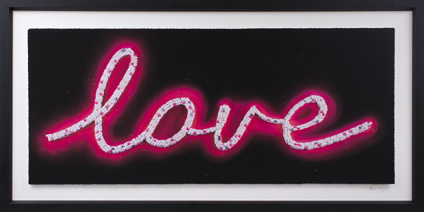 Emma Gibbons, Neon Love - Pink, 2021