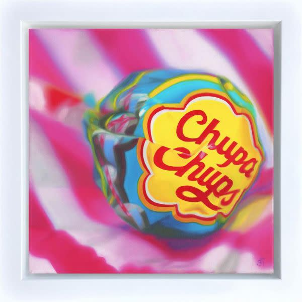 Sarah Graham, Cola Chupa Chups Canvas