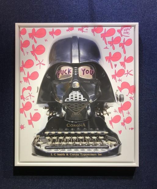 Pure Evil, F**K You Corona - Tagged Darth Typewriter- Darkside, 2020