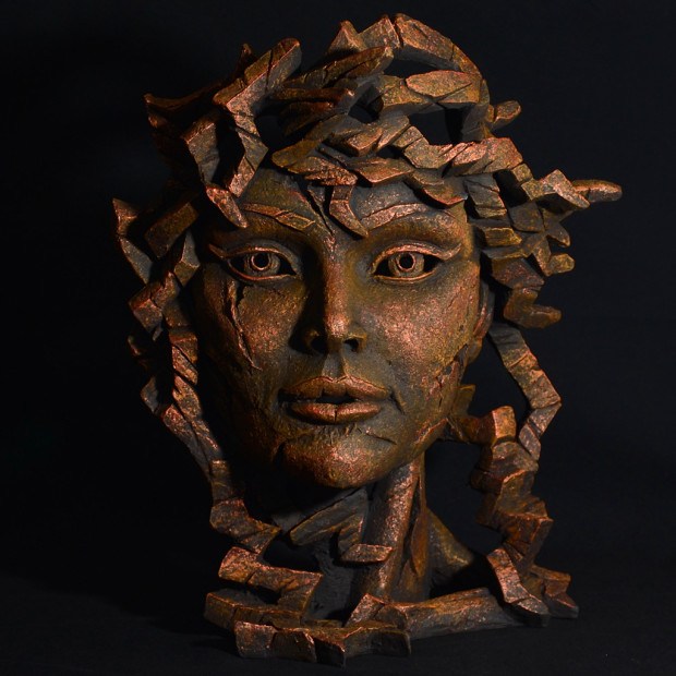 Matt Buckley, Venus Bust - Fusion Copper Blaze, 2017