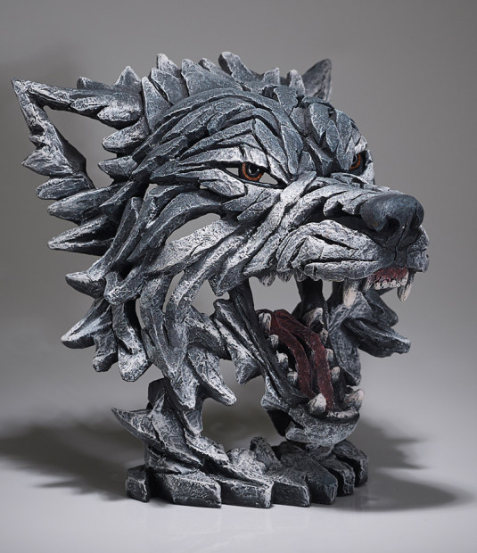 Matt Buckley, Wolf Bust - Grey