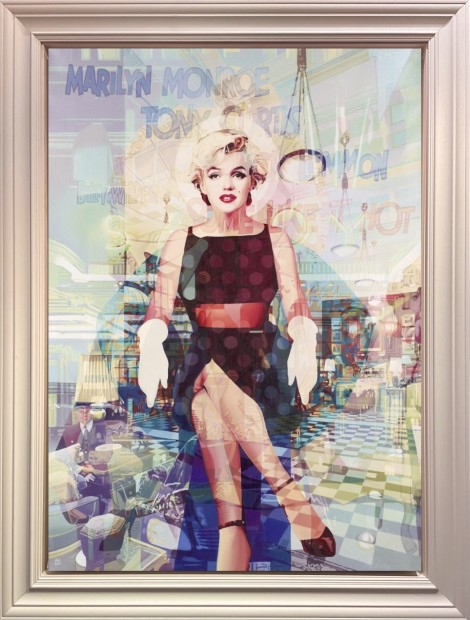 Stuart McAlpine Miller, Marilyn Monroe: Bright Young Thing from The Savoy Suite