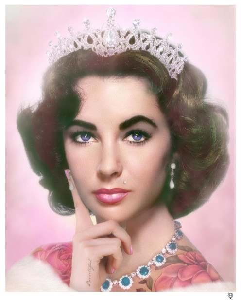 JJ Adams, Elizabeth Taylor - Colour, 2019