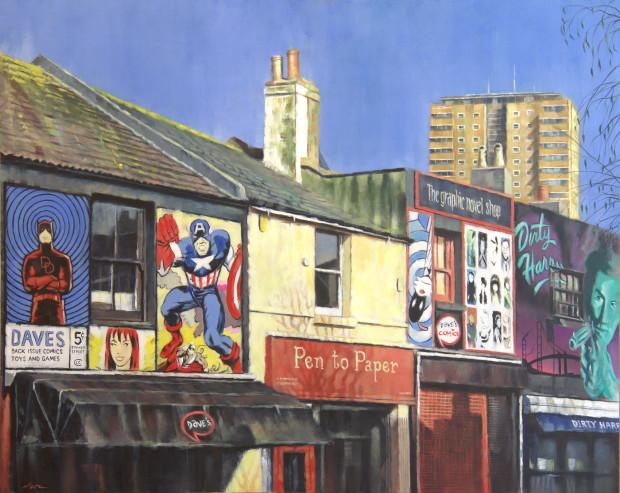 Marc Gooderham, A Brighton Series -Sydney Street Original , 2018