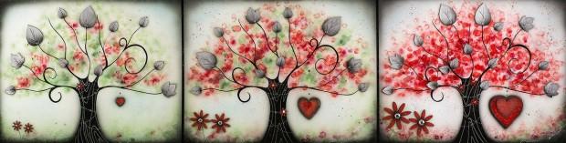Kealey Farmer, Love Blossoms, 2017