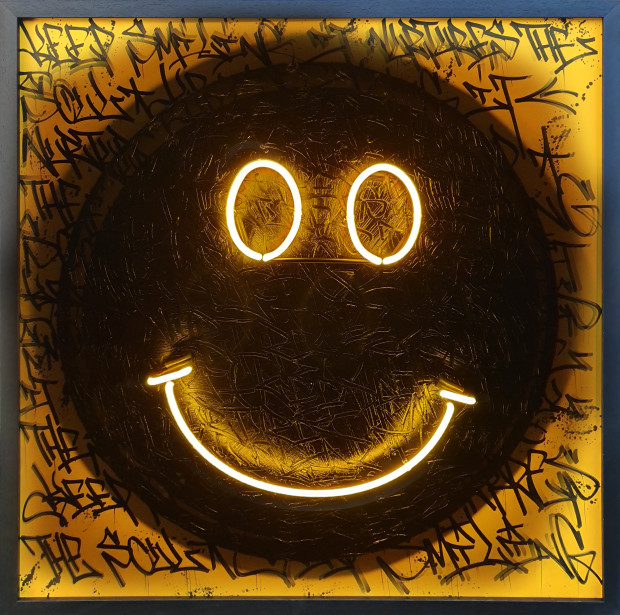 Dan Pearce & Opake One, Keep Smiling , 2019