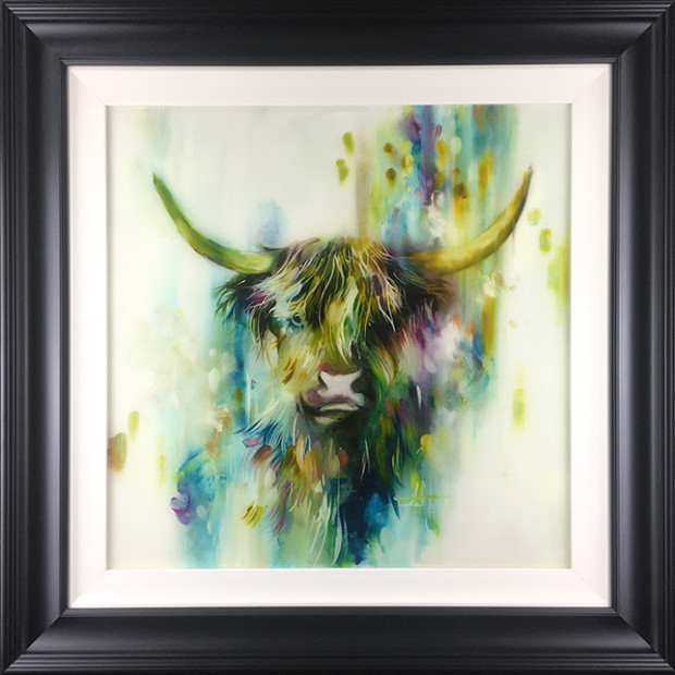 Katy Jade Dobson Highland Soul, 2018 Signed Limited Edition Print Framed Size 35 x 35 in Framed Size 88.9 x 88.9 cm Limited Edition of 75