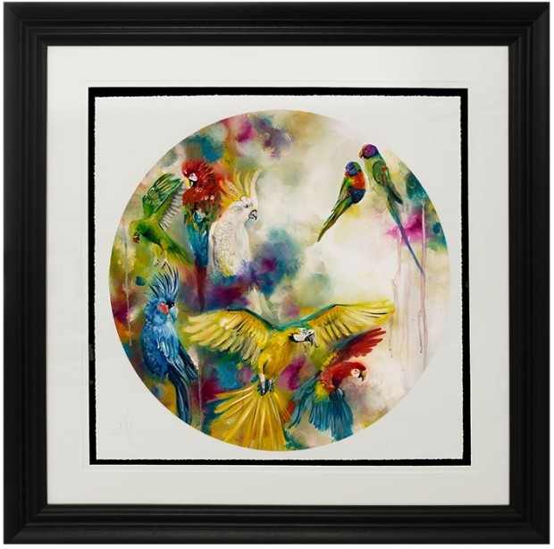 Katy Jade Dobson, Pretty Polly (Parrots & Parakeets), 2017
