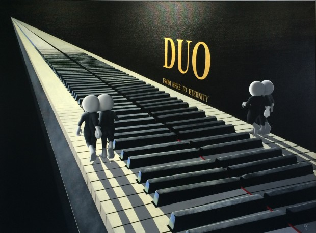 Mark Grieves, Duo - 3D Edition, 2017
