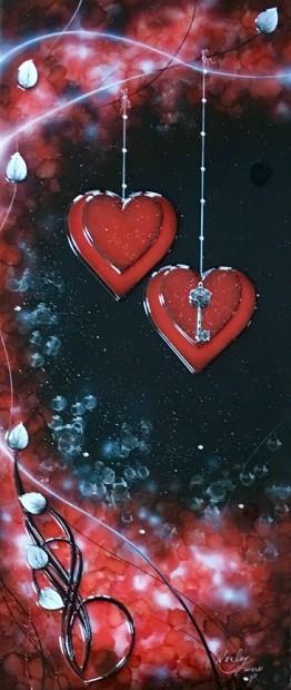 Kealey Farmer, Love Is The Key - Red, 2017