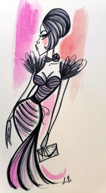 Laëtitia Guilbaud, Fashion Girl, 2021