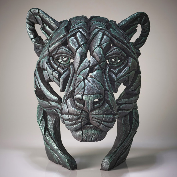Matt Buckley, Panther Bust Green Dream (Green), 2020