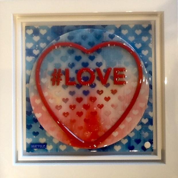 Hue Folk, Love - Sweetart Red & Blue Mix, 2017