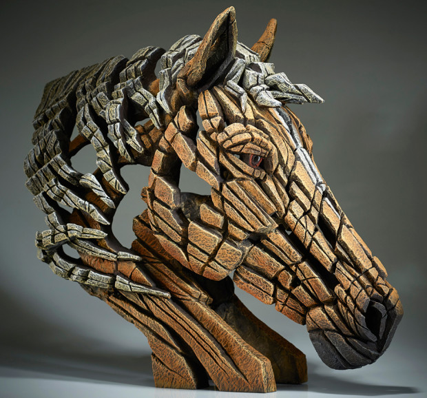 Matt Buckley, Horse Bust (Palomino)