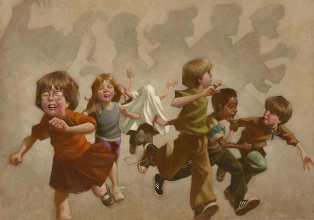 Craig Davison, Pesky Kids!, 2017