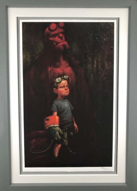 Craig Davison, Golden Years - Hell Yeah - Paper, 2018