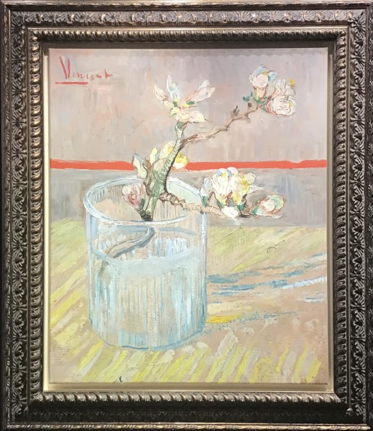 Peter Osborne, Sprig of Flowering Almond in a Glass - Vincent Van Gogh , 2021