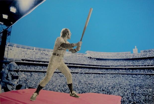 David Studwell, Elton John Home Run - Dodger Stadium 1975, 2019