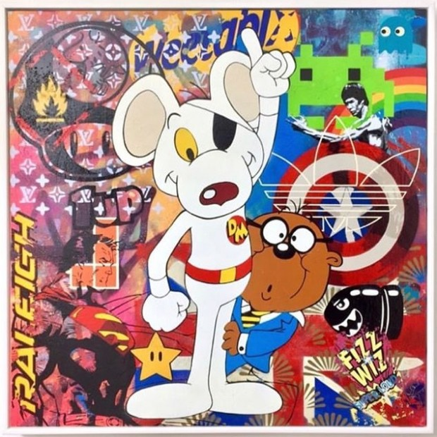 Lee Henderson, Danger Mouse, 2019