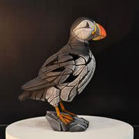 Matt Buckley Puffin, 2019 Marble Resin Sculpture Only available for Pre - Order This piece will be released April 2019 13 3/4 x 10 3/8 x 6 1/2 in 35.1 x 26.4 x 16.5 cm
