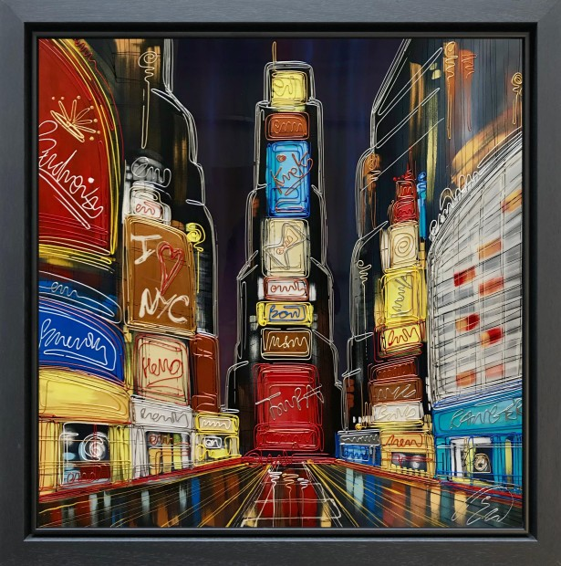 Edward Waite, The Bright Lights Of NYC, 2019