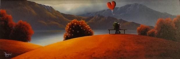 David Renshaw, Love Peaks, 2017