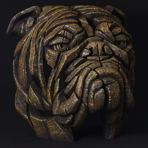 Matt Buckley, Bulldog Bust - Smouldering Brown Rust, 2017