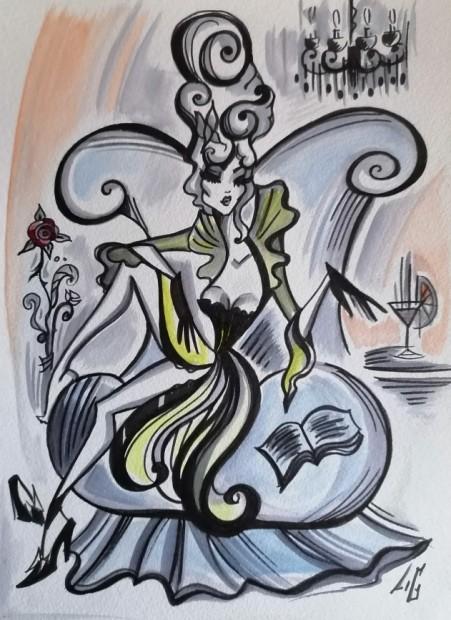 Laëtitia Guilbaud, La Marquise Romantque - The Romantic Duchess, 2021