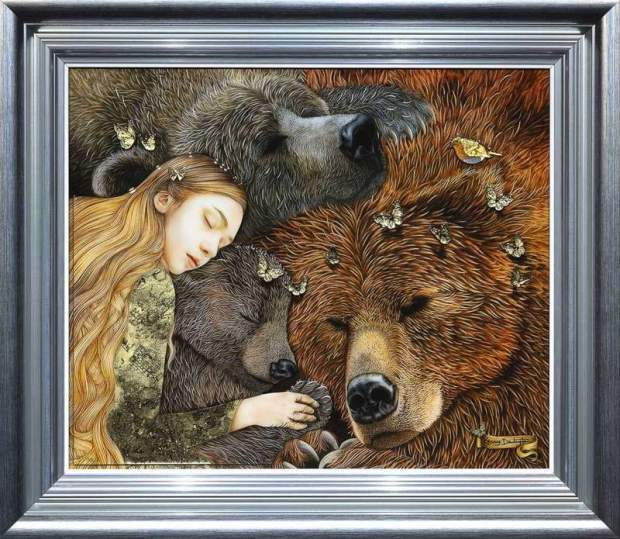 Kerry Darlington, Goldilocks and the Three Bears, 2020