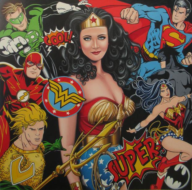 Marie Louise Wrightson, Wonderwoman, Justice League, 2020