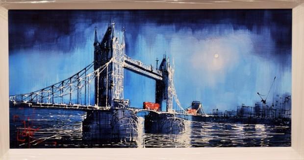 Nigel Cooke, City By Moonlight , 2018