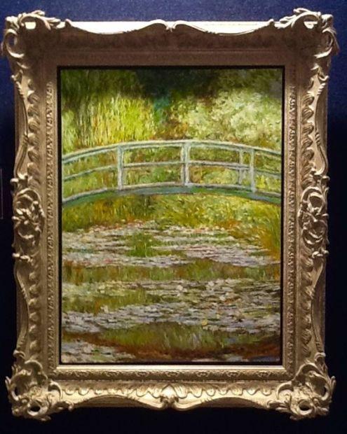 Peter Osborne, Claude Monet The Bridge at Giverny