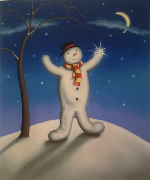 Paul Horton, The Lost Snowflake - Artist Remarque