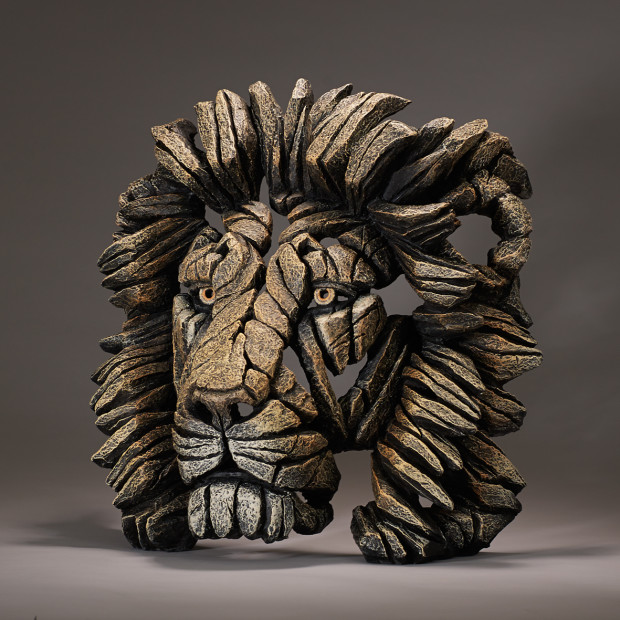 Matt Buckley, Lion Bust - Savannah, 2017