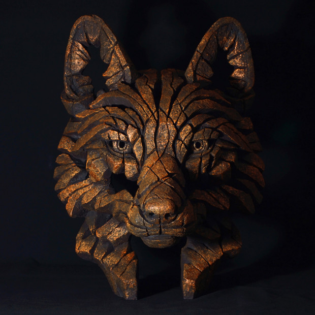 Matt Buckley, Fox Bust - Fusion Copper Blaze, 2017