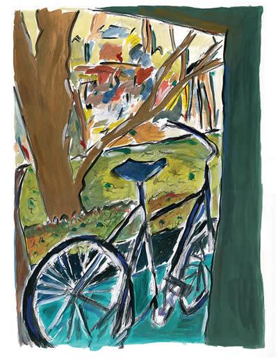 Bob Dylan, Bicycle, 2014