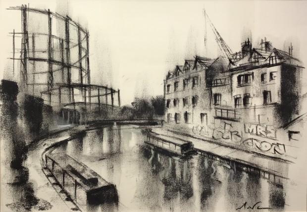 Marc Gooderham, Regents Canal , 2019