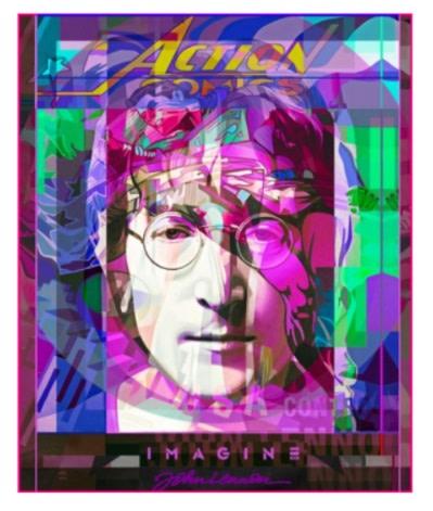 Stuart McAlpine Miller, John Lennon Graphic Genius 3, 2021
