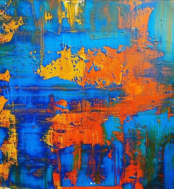 Alexander Rhys, Fire & Water II, 2020